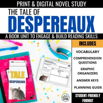 The Tale of Despereaux Foldable Novel Study Unit
