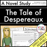 The Tale of Despereaux Novel Study Unit 20% off for 48 hours