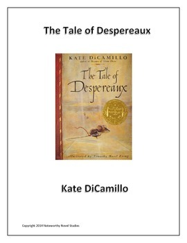 The Tale of Despereaux Novel Study/Teacher's Guide