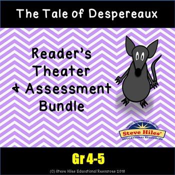 The Tale of Despereaux Reader's Theatre & Assessment BUNDLE!