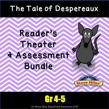 The Tale of Despereaux Reader's Theater & Assessment BUNDLE!