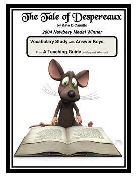 The Tale of Despereaux  Vocabulary Study