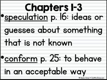 The Tale of Despereaux Vocabulary Presentation