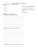 The Tale of Despereaux - Vocabulary and Comprehension Quiz Chapters 32-39