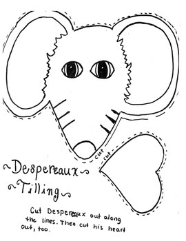 The Tale of Despereaux after reading activity
