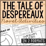 The Tale of Despereaux Interactive Notebook Novel Unit Stu