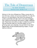 The Tale of Despereaux by Kate DiCamillo - Novel Study Guide with Signposts