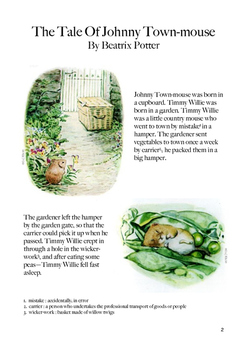 The Tale of Johnny Town-Mouse - Full Package