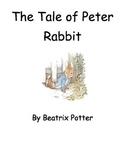 The Tale of Peter Rabbit Activities