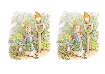 The Tale of Peter Rabbit Comic Strip and Storyboard