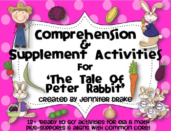 The Tale of Peter Rabbit ~Comprehension & Supplemental Activities ~CC Aligned~