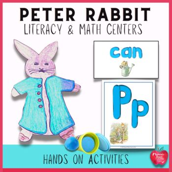 The Tale of Peter Rabbit Literacy and Math Center Activities