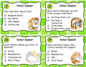The Tale of Peter Rabbit  -  Task Card Fun!