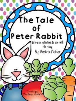 The Tale of Peter Rabbit by Potter - Literature Unit