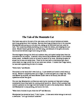 """""""The Tale of the Mountain Cat, A Native Story;"""" New Book Trailer"""