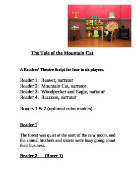 """""""The Tale of the Mountain Cat"""" A Readers Theatre Script [Theater Scripts]"""