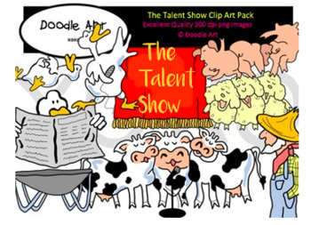 The Talent Show Clipart Pack