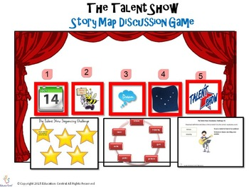 The Talent Show- Comprehension Games and Activities