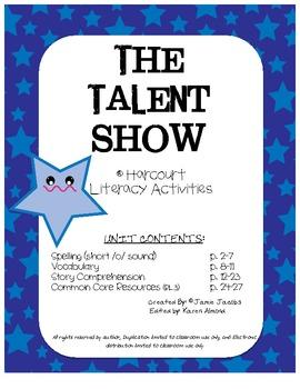 The Talent Show (Harcourt Supplemental Materials)