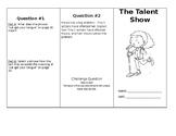 The Talent Show Wonders Unit 1 Week 2