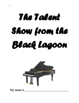 The Talent Show from the Black Lagoon - Vocabulary and Comprehension Packet