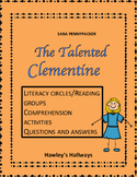 The Talented Clementine Comprehension questions