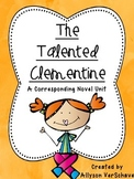 The Talented Clementine - Corresponding Novel Unit