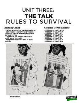 The Talk: Rules for Survival (The Hate U Give)