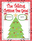 The Talking Christmas Tree Game!  42 task cards math and grammar Grades 3 - 4