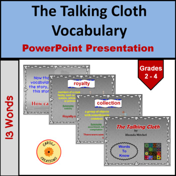 The Talking Cloth Vocabulary Power Point