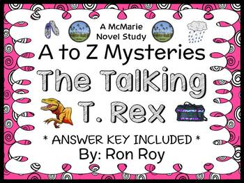 The Talking T. Rex : A to Z Mysteries (Ron Roy) Novel Study / Comprehension