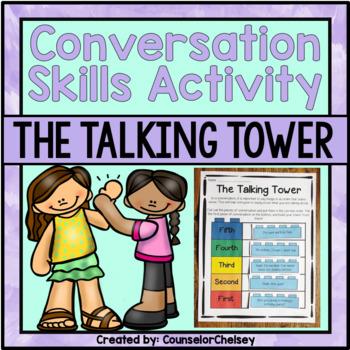 Social Skills Activity - The Talking Tower