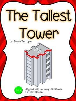 The Tallest Tower Guided Notes: Journeys 3rd Grade