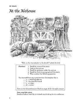 The Taming of the Shrew 10 Chapters, Student Activities, Answer Keys