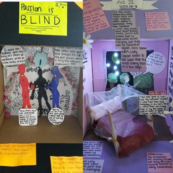 The Taming of the Shrew 3-D Scene Analysis Project Diorama: Standards Based