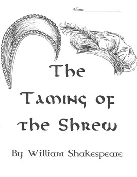 The Taming of the Shrew Full Unit Study with Test