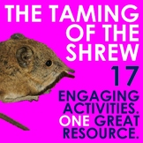 The Taming of the Shrew Choice Menu With 17 Engaging Activities!