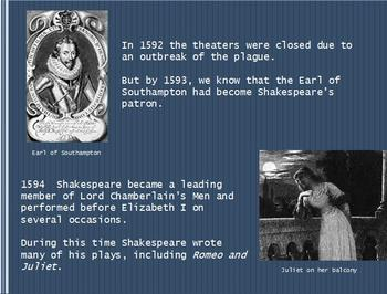 """The Taming of the Shrew"" William Shakespeare Powerpoint Presentation"