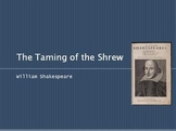 """The Taming of the Shrew"" William Shakespeare Powerpoint P"