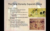 The Tang and Song Dynasties