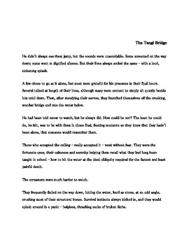 """The Tangi Bridge"" short story"