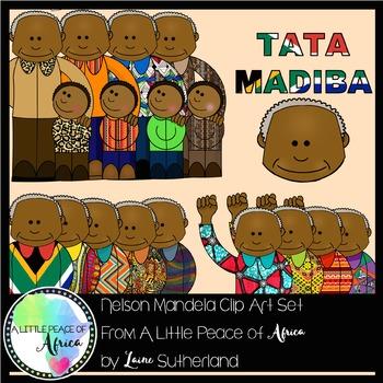 The Tata Madiba (Nelson Mandela) Clip Art Collection