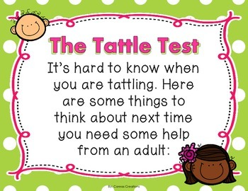The Tattle Test {FREE}