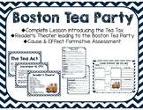 The Tea Act/Boston Tea Party Activity