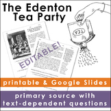 The Tea Act: The Edenton Tea Party