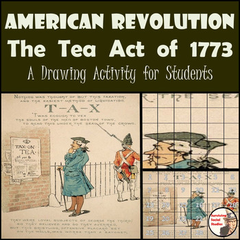 The Tea Act of 1773 - Painting Recreation - American Revolution