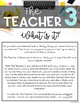 The Teacher 3 | FREEBIE