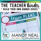 The Teacher Binder {Core Edition}