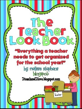 The Teacher Look Book/Notebook/ Binder