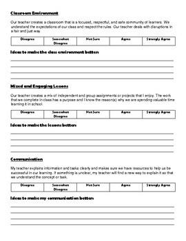 The Teacher Report Card